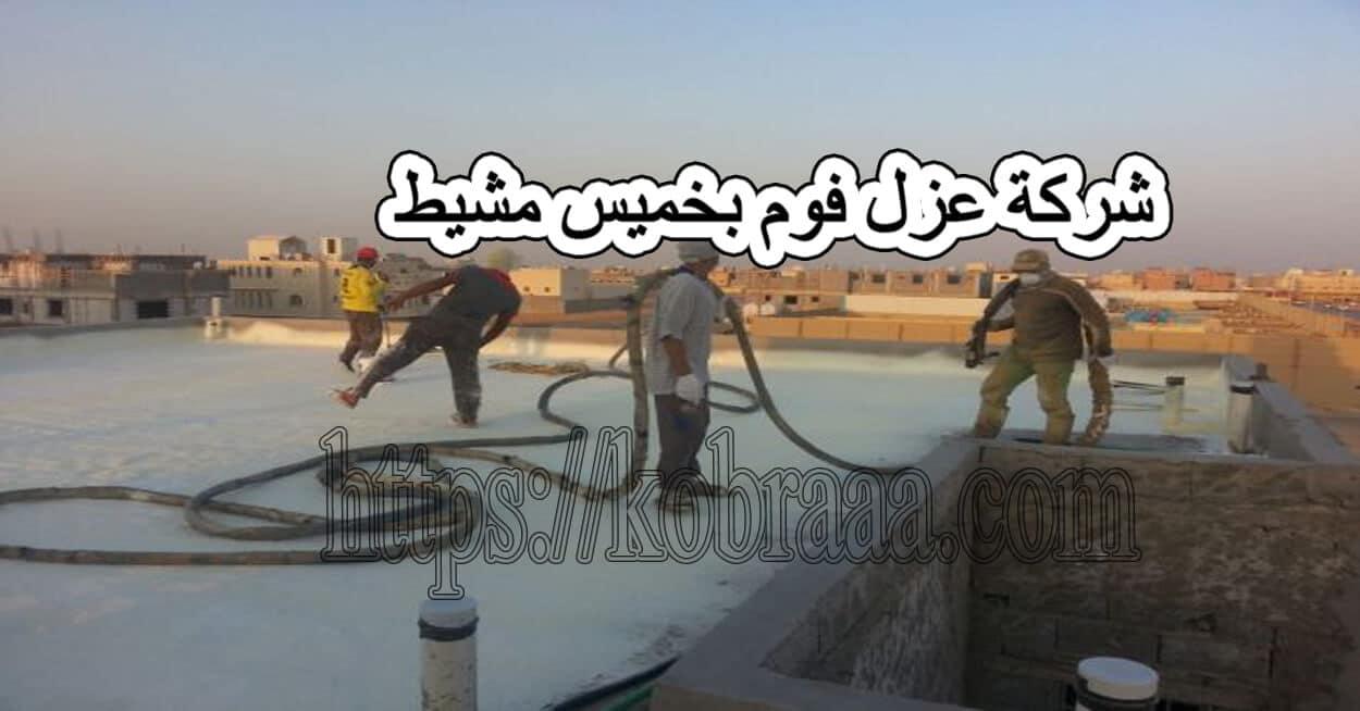 شركة عزل فوم بخميس مشيط