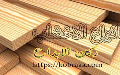أنواع الخشب المستخدم في الأثاث